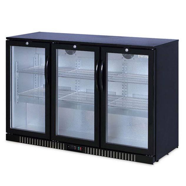 330l Under Bench Drink Fridge The 320 Litre 3 Door