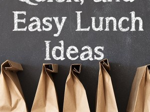 Lunch Ideas For Your Kids