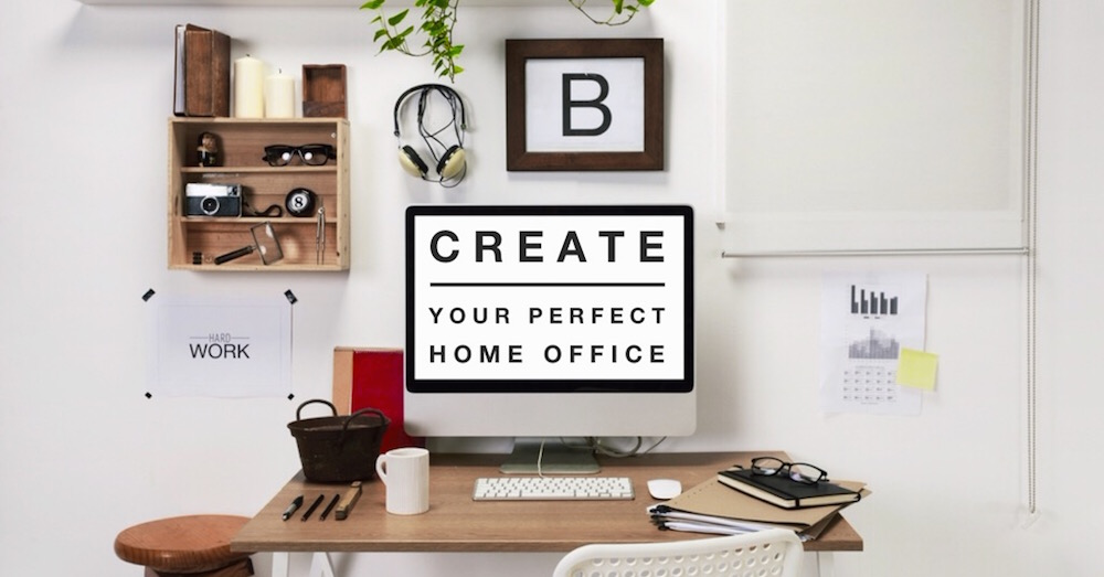 Create your perfect home office macrae rentals for Creating a home office