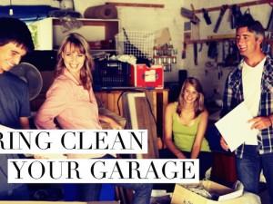Spring Clean Your Garage