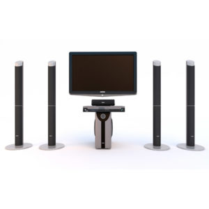 HD TV and Home Theatre System