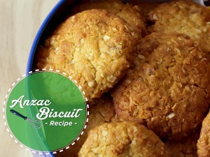 Make Your Own Anzac Day Biscuits