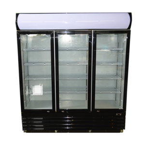 macrae-rentals-3-door-1150ltr-display-fridge-black