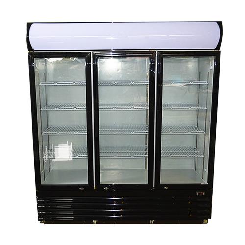 macrae-rentals-3-door-1150ltr-display-fridge-black