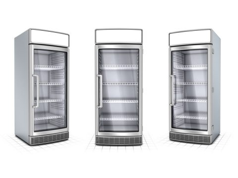 Rent display fridges for commercial use